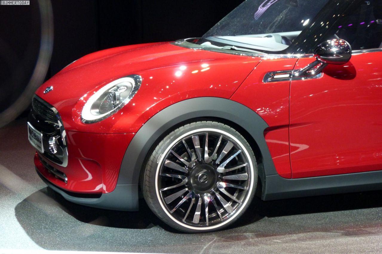 Photo 2014 Mini Clubman F54 Concept Car Genfer Autosalon Studie
