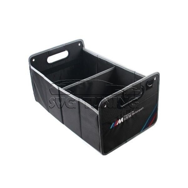 Складывающийся ящик - органайзер с логотипом M-Performance в багажный отсек автомобилей марки...