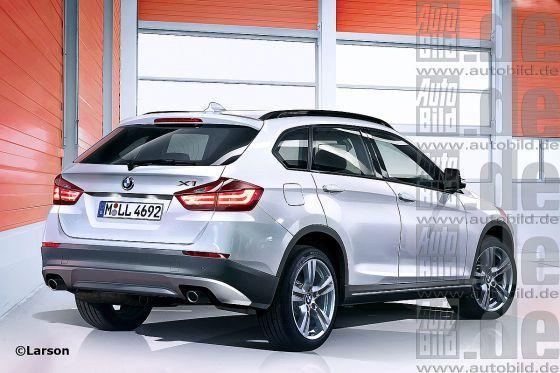 Журнал Autobild опубликовал рендер-изображения нового BMW X1 - BMW ...