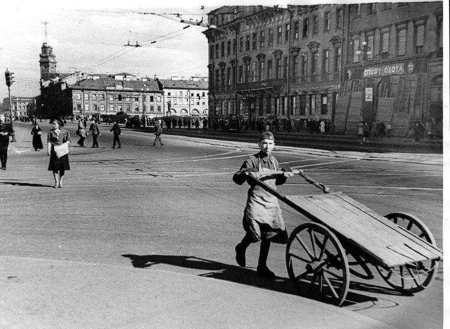 Редкие фото блокадного ленинграда