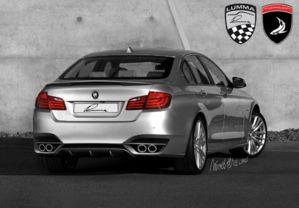 BMW 5 back