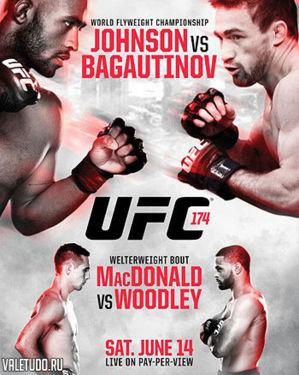 ufc 174 poster