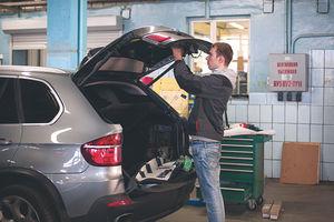 Багажник  BMW E70