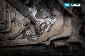 Замена карданного вала Mercedes W221