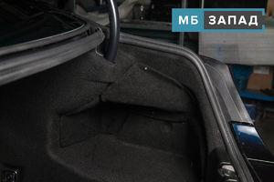 """Установка на BMW 6-series комплекта открытия багажника ногой """"Smart Open"""""""