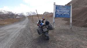 Памирский тракт с мобильного.