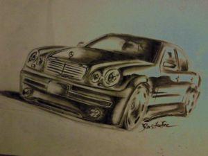 ))))))мерс + бампер от крайслер 300С