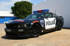 Saleen Police car
